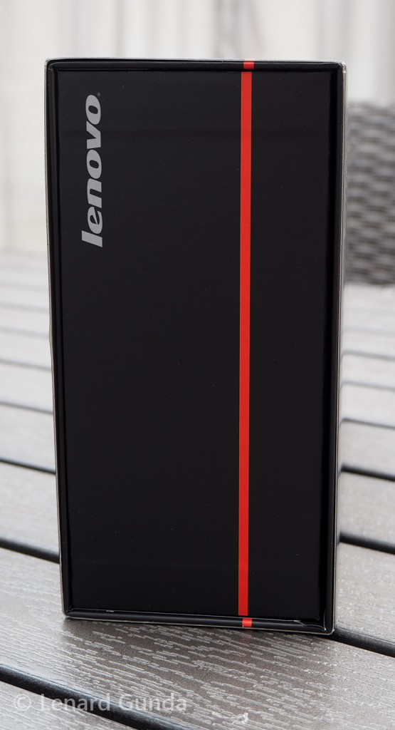 ThinkPad Stack box, side view