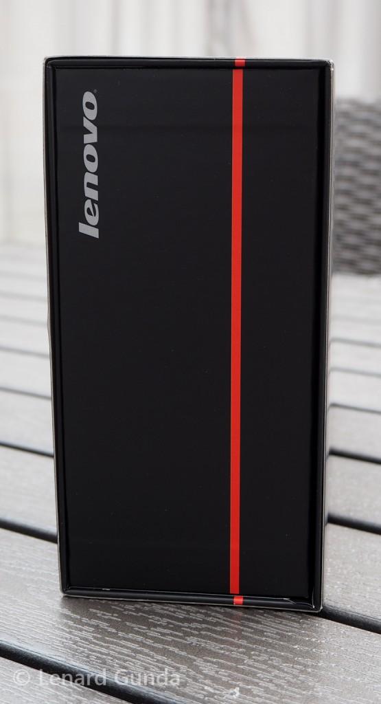 ThinkPad Stack box, side view