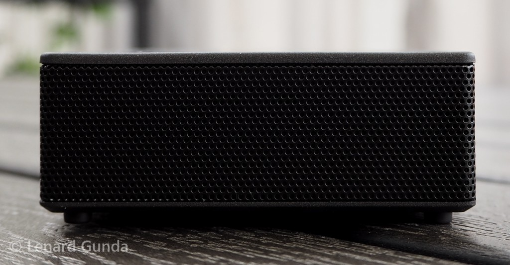 Bluetooth Speaker side view