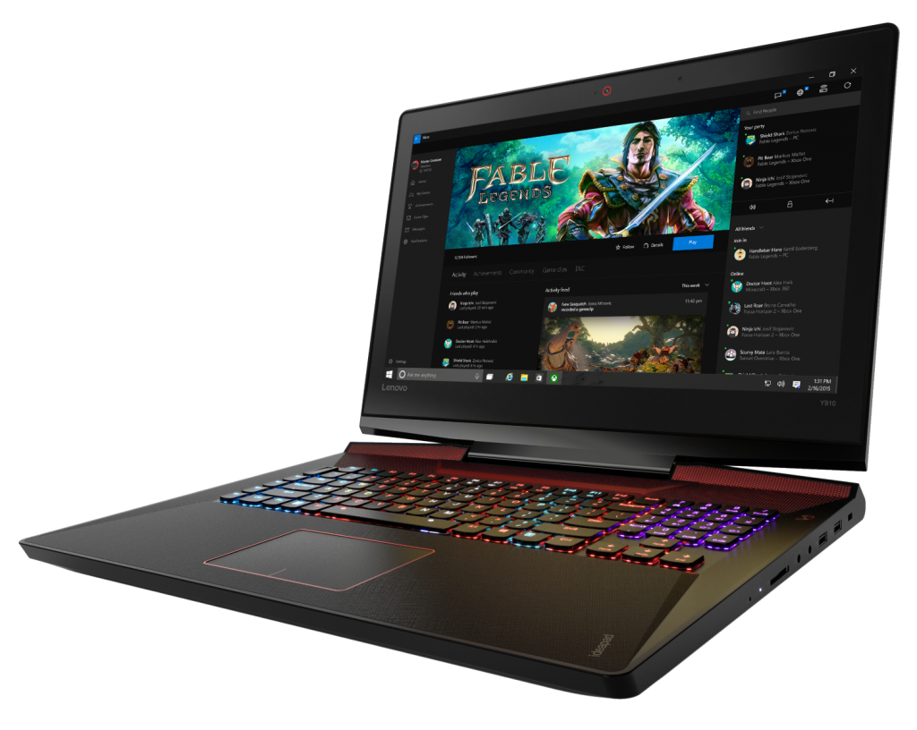 Lenovo IdeaPad Y910 Gaming Laptop