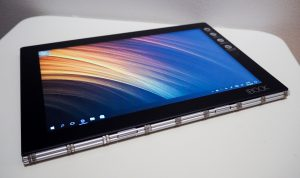 Yoga Book in tablet mode