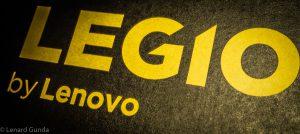 Lenovo Legion logo on the box
