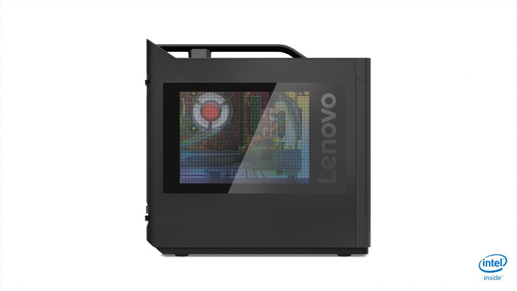 Lenovo Legion T730 - Left side
