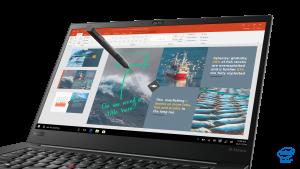 ThinkPad X1 Extreme pen input
