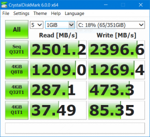CrystalDiskMark6 (with BitLocker)
