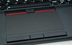 Touchpad on the P52
