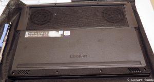 Legion Y530 back panel