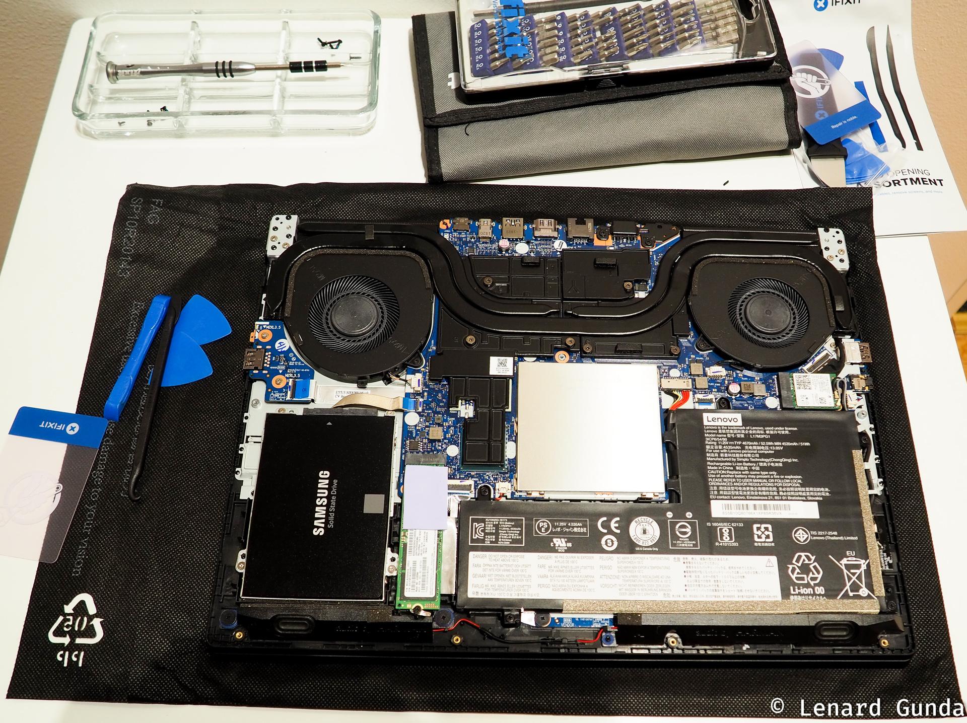 Legion Y530: RAM upgrade and maximum supported memory