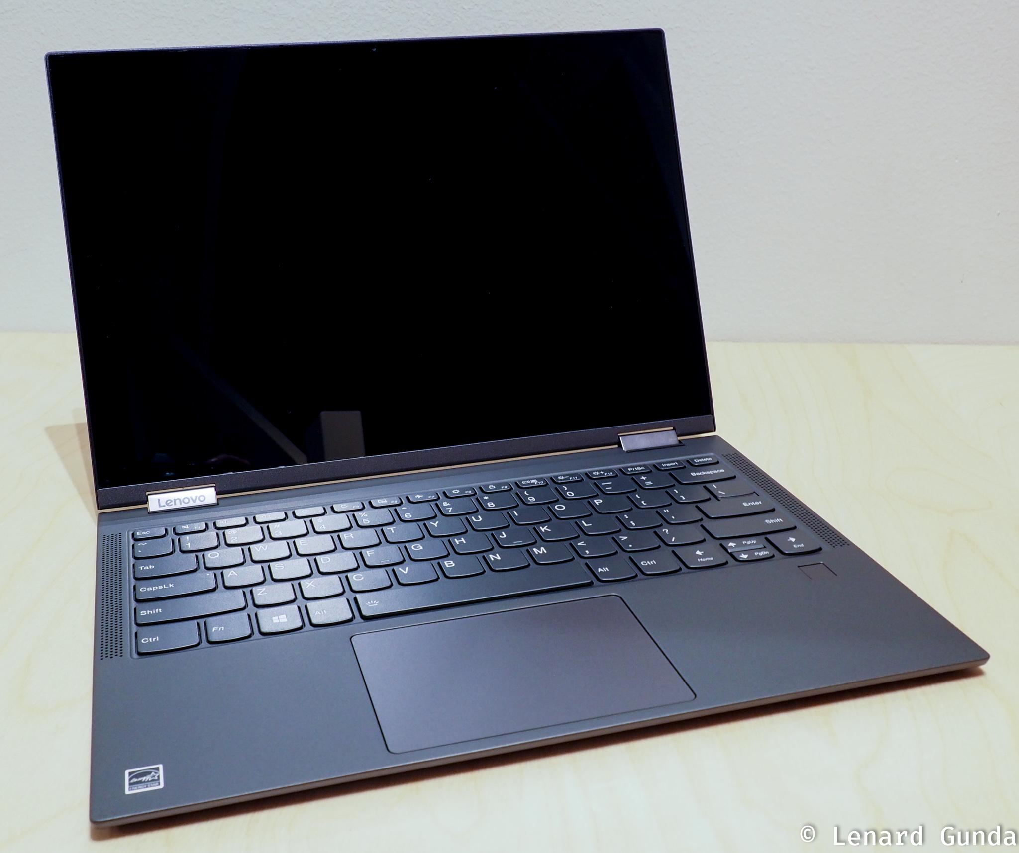 Lenovo YOGA C630 WOS review - LenardGunda com