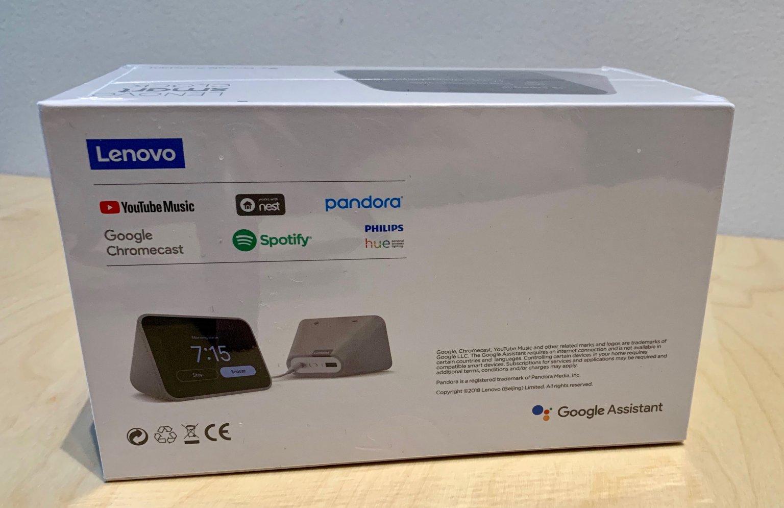 Lenovo Smart Clock: Unboxing - LenardGunda com