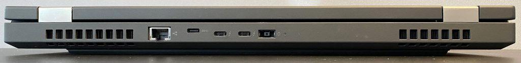 ThinkPad P15 Gen 1 - Back side