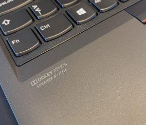 ThinkPad P15 Gen 1 - Dolby Atmos logo