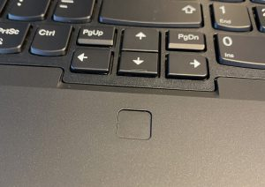ThinkPad P15 Gen 1 - Fingerprint sensor