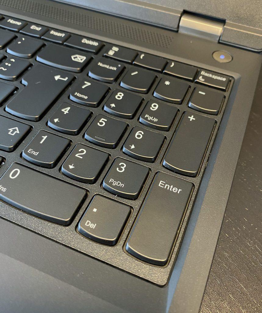 ThinkPad P15 Gen 1 - Numberpad
