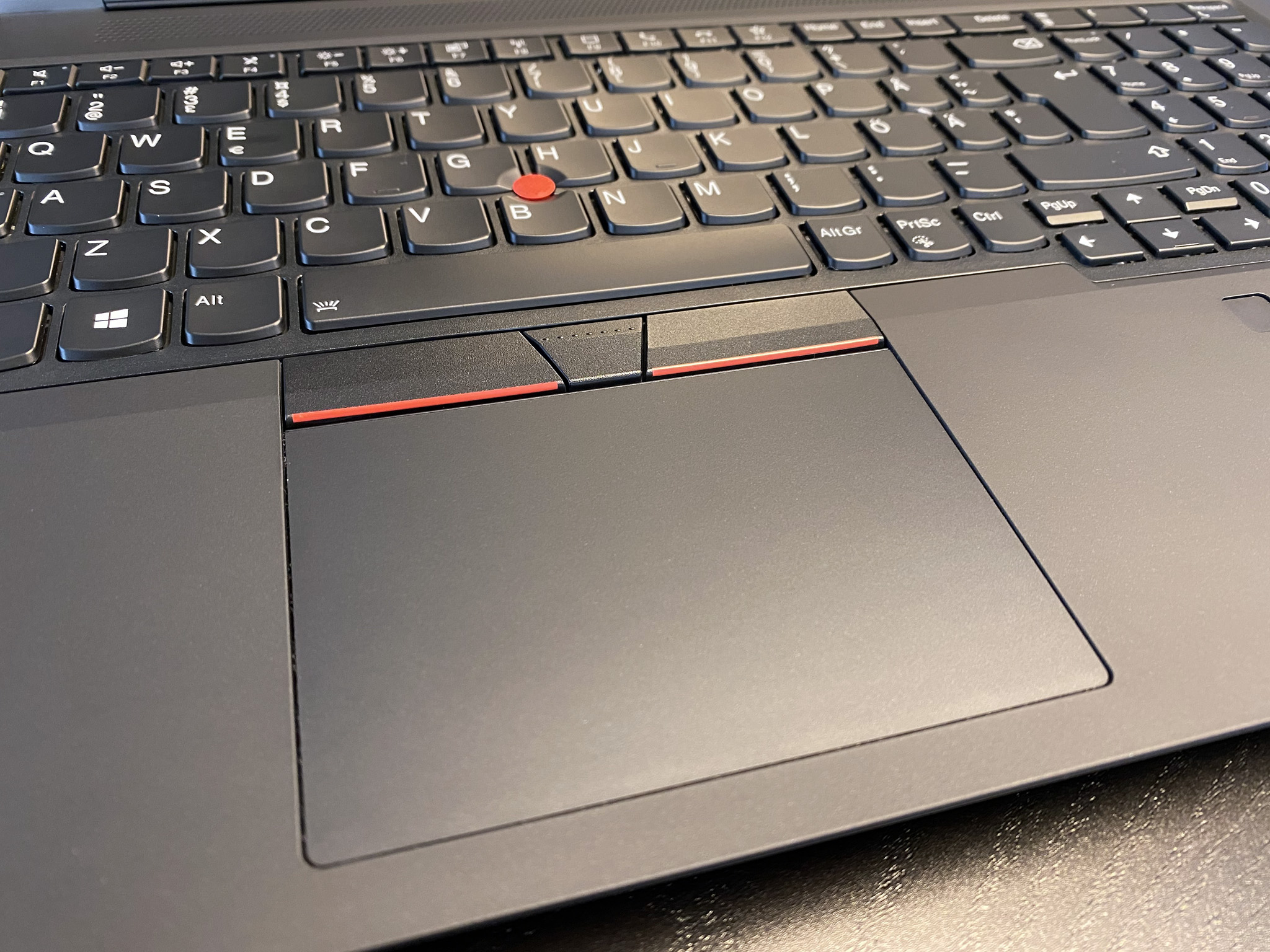 ThinkPad P15 Gen 1 - Trackpad