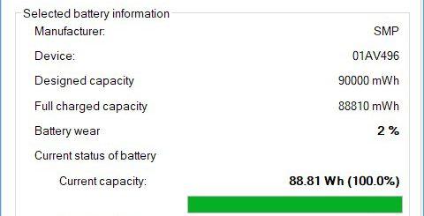 BatteryInfo screenshot